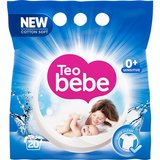 Detergent rufe copii Teo Bebe Cotton Soft Blue compact almond automat 20spalari 1.5kg